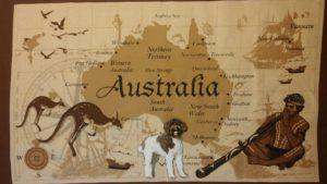 De Bonte Labradoodle Australia Doek
